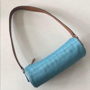 Kate Spade Small Blue Fabric Purse